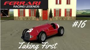 first ferrari race car 16 test drive ferrari racing legends taking first ferrari