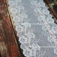 blue and white table runner gray and white table runner 7 1 2 inches x yd lace table runner lace