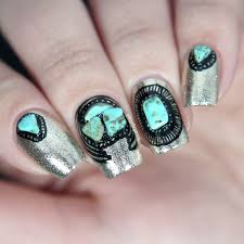 nail art with stones glitterfingersss in english