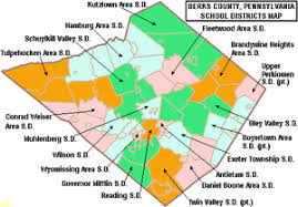 map of berks county pa berks county pennsylvania