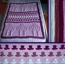 wedding gift knitting patterns personalized afghan pattern great wedding gift easy to do