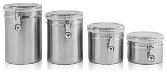 kitchen canisters stainless steel best canister set stainless steel photos 2017 blue maize