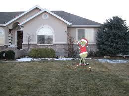 grinch christmas decoration grinch christmas decorations on house grinch christmas creeping