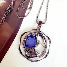 pendant necklace long chain images Necklace chain pendant more fruitpaunch gifts jpg