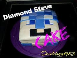lil devil diamond steve cake minecraft ps4 youtube