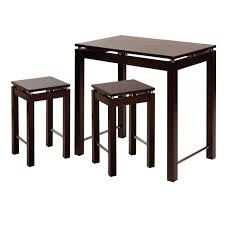 table with 2 stools 55 kitchen table and stools set new wood breakfast bar kitchen
