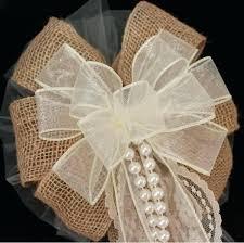 rustic ribbon burlap and ivory lace ribbon bazaraurorita