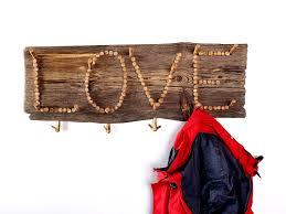 coat rack wooden coat rack driftwood coat hanger handmade