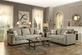 homelegance gowan sofa set chenille brown 8477 sofa set