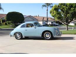 gold porsche convertible 1957 porsche 356 for sale on classiccars com