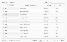 Bootstrap Data Table Datatable Bulk Delete Server Side