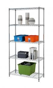 Metal Wire Shelving by Gzyf 5 Tier Steel Shelf Adjustable Metal Wire Shelving Unit For