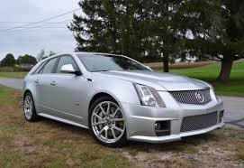 2011 cadillac cts v sport wagon sale 29k mile 2011 cadillac cts v wagon 6 speed for sale on bat