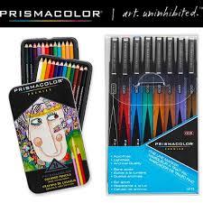 prismacolor colored pencils prismacolor colored pencils and gine line marker stuffer