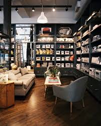 retail store design photos shelving grey and retail store design