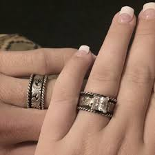 western wedding rings best the pair of rings for a country wedding matching