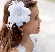 flower girl hair accessories toddler wedding hairstyles for kids flower hair clip hair