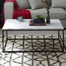 box frame coffee table marble west elm au