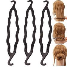 hair bun maker 3pcs diy accessory for donut hair bun maker styling hairdressing