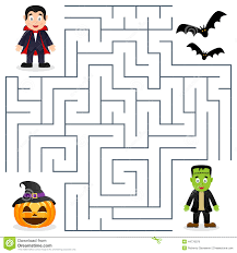 halloween maze coloring page create a printout or activity