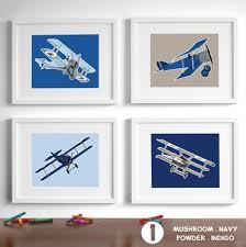 Vintage Airplane Nursery Decor Wall Ideas Vintage Airplane Wall Art Images Vintage Planes Wall