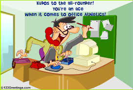 kudos to the all rounder free humor ecards greeting cards 123