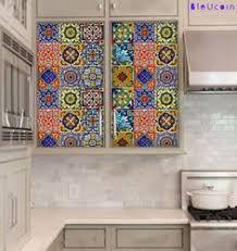 Tile Decals For Kitchen Backsplash Kitchen Bathroom Tile Decals Vinyl Sticker Mexican Mix