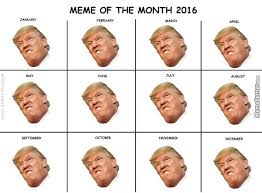 Meme Calendar 2016 - meme of the month calendars by anthropoceneman meme center