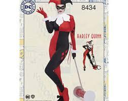 Harley Quinn Halloween Costume Size Harley Quinn Costume Etsy