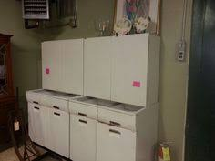 1950s Metal Kitchen Cabinets Youngstown White Metal Kitchen Cabinets Circa 1956 These Are The