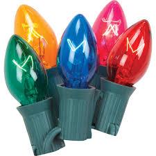 multi color c7 string lights 25 lights
