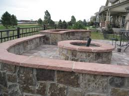 Outdoor Fire Pit Cool Outdoor Fire Pit Patio Decorating Ideas Interior Amazing