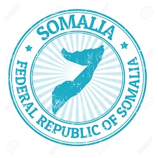 Map Of Somalia Grunge Rubber Stamp With The Name And Map Of Somalia Vector