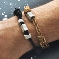bracelet beads silver images Personalised men 39 s silver bead bracelet by chambers beau jpg