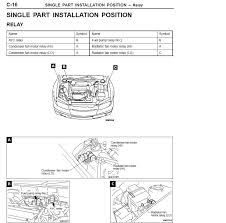 where is the fuel pump relay mitsubishi lancer register forum