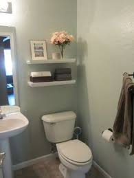 Decorating Bathroom Shelves Diy Floating Bathroom Shelves Would Be Good For Our Tiny Toilet