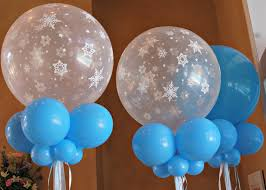 snowflake balloons frozen themed birthday party decorations birthday ideas for