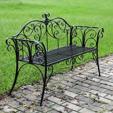 Butterfly Patio Chair Metal Garden Bench Ebay