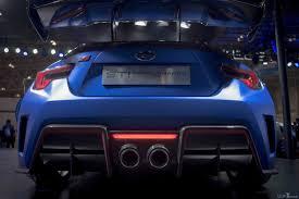 subaru brz matte blue subaru brz sti concept the car we wish they released years ago