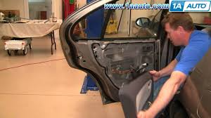 2013 nissan altima rear quarter panel how to install replace remove rear door panel nissan altima 98 01