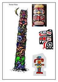 totem poles by alainechristian teaching resources tes