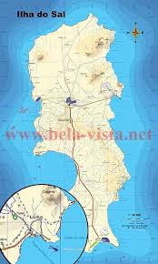 cape verde map world sal cape verde map 1 50 000 for surf hike dive and investment