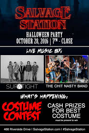 best music for halloween party halloween party ft supatight w the chit nasty band u2014 salvage station