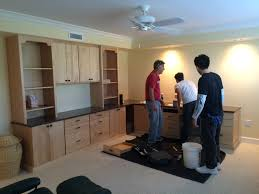 Small Bedroom And Office Combo Ideas Cabinet Colors Kitchens With Stylish Two Tone Cabinets Grey And