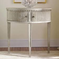 half round console table half circle console table dining room popular table design