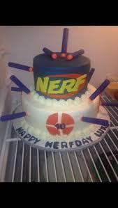 nerf cake u2026 pinteres u2026