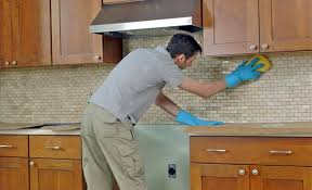 how to degrease backsplash how to install a tile backsplash the home depot