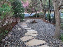 Rock Backyard Landscaping Ideas River Rock Landscaping Designs Backyard Landscape Design