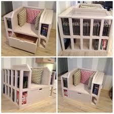 furniture 20 photos chair with built in bookshelf ideas chair