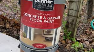 Behr Porch And Floor Paint On Concrete by Behr Garage 1 Part Epoxy Paint Installation And Result Youtube